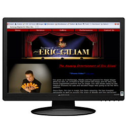 Magician Eric Giliam